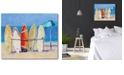 """Courtside Market Resting on The Beach Gallery-Wrapped Canvas Wall Art - 16"""" x 20"""""""