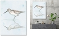 """Courtside Market Sandpiper Reflections II Gallery-Wrapped Canvas Wall Art - 18"""" x 24"""""""