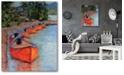 "Courtside Market Fallen-Leaf-Lake Gallery-Wrapped Canvas Wall Art - 16"" x 20"""