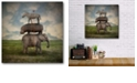 """Courtside Market The View is Wonderful Gallery-Wrapped Canvas Wall Art - 16"""" x 16"""""""