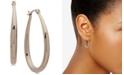 """Lauren Ralph Lauren Elongated Small Hoop Earrings 1"""""""