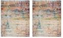 Safavieh Monaco Teal and Orange 9' x 12' Area Rug