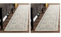"Safavieh Patina Light Grey and Ivory 2'2"" x 12' Runner Area Rug"