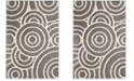 Safavieh Memphis Gray and Cream 4' x 6' Area Rug