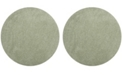 "Safavieh Laguna Light Sage 6'7"" x 6'7"" Round Area Rug"