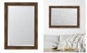 """Melissa Van Hise Warm Walnut Framed Mirror - 30"""" x 42"""" x 2"""""""