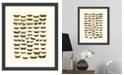 "Melissa Van Hise Butterfly Charts I Framed Giclee Wall Art - 15"" x 18"" x 2"""