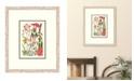 "Melissa Van Hise Cottage Flowers II Framed Giclee Wall Art - 21"" x 25"" x 2"""