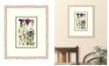 "Melissa Van Hise Cottage Flowers III Framed Giclee Wall Art - 21"" x 25"" x 2"""