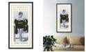 "Melissa Van Hise Les Costumes De Bain Hermes Framed Giclee Wall Art - 23"" x 43"" x 2"""