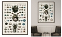 "Melissa Van Hise Aerie II Framed Giclee Wall Art - 36"" x 47"" x 2"""