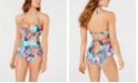 SUNDAZED Cutout Tankini Top & Cheeky Bottoms, Created for Macy's