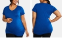Motherhood Maternity Plus Size Jersey Ruched Top