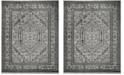 Safavieh Adirondack Silver and Black 11' x 15' Area Rug