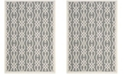 "Martha Stewart Collection Cement 2'7"" x 5' Area Rug, Created for Macy's"