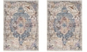 Safavieh Bristol Blue and Light Gray 6' x 9' Area Rug