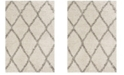 Safavieh Hudson Ivory and Gray 6' x 9' Area Rug
