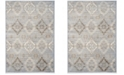 "Safavieh Vintage Light Blue and Ivory 4' x 5'7"" Area Rug"
