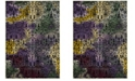 """Safavieh Watercolor Light Yellow and Green 2'7"""" x 5' Area Rug"""