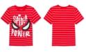 Marvel Little Boys Spider-Man Spider Power Stripe T-Shirt