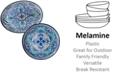 Certified International Talavera 2-Pc. Melamine Platter Set