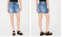 Kendall + Kylie Ripped Frayed-Hem Skirt