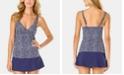 Anne Cole Take It or Leaf It Printed Underwire Tankini Top & Swim Skirt