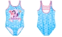 Dreamwave Little Girls My Little Pony Graphic Swimsuit