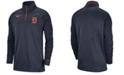 Nike Men's Detroit Tigers Dry Game Elite Quarter-Zip Pullover