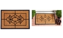 "Home & More Viola 24"" x 36"" Coir/Rubber Doormat"