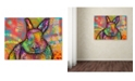 "Trademark Global Dean Russo 'Hare' Canvas Art - 24"" x 18"" x 2"""