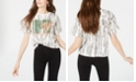 Love Tribe Juniors' MTV Printed Cropped Graphic T-Shirt