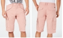 GUESS Men's Summery Stretch Cargo Shorts
