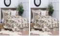 C&F Home Silhouette Palm King 3 Piece Quilt Set