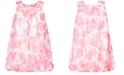 Blueberi Boulevard Little Girls Printed Chiffon Bubble Dress