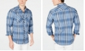 INC International Concepts I.N.C. Men's Aaron Plaid Shirt, Created for Macy's