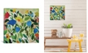 """iCanvas """"Blue Tulips"""" By Kim Parker Gallery-Wrapped Canvas Print - 26"""" x 26"""" x 0.75"""""""