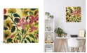 """iCanvas """"Pink Lilies"""" By Kim Parker Gallery-Wrapped Canvas Print - 26"""" x 26"""" x 0.75"""""""