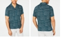 INC International Concepts I.N.C. Men's Abstract Dot-Print Camp Shirt, Created for Macy's
