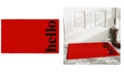 """Home & More Vertical Hello 17"""" x 29"""" Coir/Vinyl Doormat"""