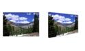 """Trademark Global Robert K Jones 'Peru Creek 4' Canvas Art - 19"""" x 12"""" x 2"""""""
