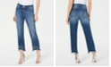 INC International Concepts INC Imitation-Pearl Hem Curvy Ankle Jeans, Created for Macy's