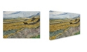 "Trademark Global Van Gogh 'Enclosed Field With Ploughman' Canvas Art - 19"" x 14"" x 2"""