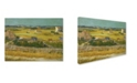 "Trademark Global Van Gogh 'The Harvest' Canvas Art - 24"" x 18"" x 2"""