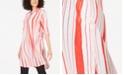 Alfani Convertible Striped Tunic, Created for Macy's