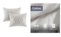 Madison Park Laetitia Full/Queen 3 Piece Cotton Chenille Medallion Duvet Cover Set