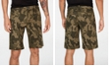 """INC International Concepts INC Men's 10"""" Chambray Camo Shorts, Created for Macy's"""