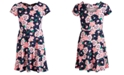 Epic Threads Big Girls Floral-Print Bow Dress, Created for Macy's