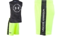 Under Armour Little Boys Electronoise 2-Pc. Logo Tank & Shorts Set