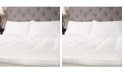 Sweet Home Collection Hypoallergenic Down Alternative Fiber Bed Twin Mattress Topper